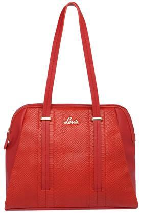 LAVIE Womens Zipper Closure Satchel Handbag - 203839751