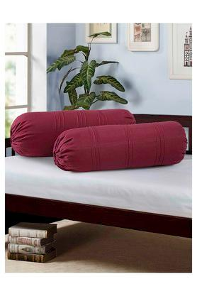 Stripe Bolster Cover Set Of 2