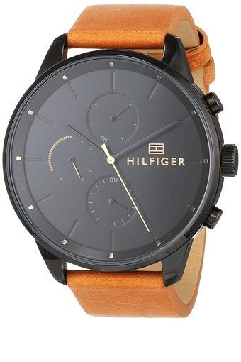 Unisex Chronograph Leather Watch