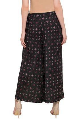 Womens Printed Casual Pants