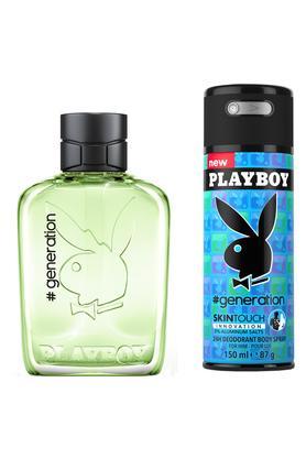 Mens Generation M Eau De Toilette Deodorant Set