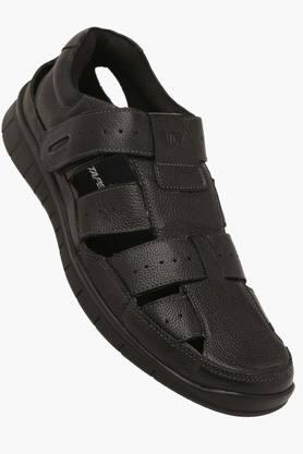 RED TAPEMens Leather Velcro Closure Sandals - 203095205_9212