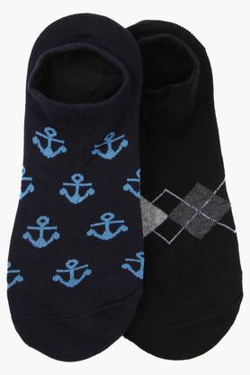 STOPUnisex Printed Socks Pack Of 2 - 204255040_9900