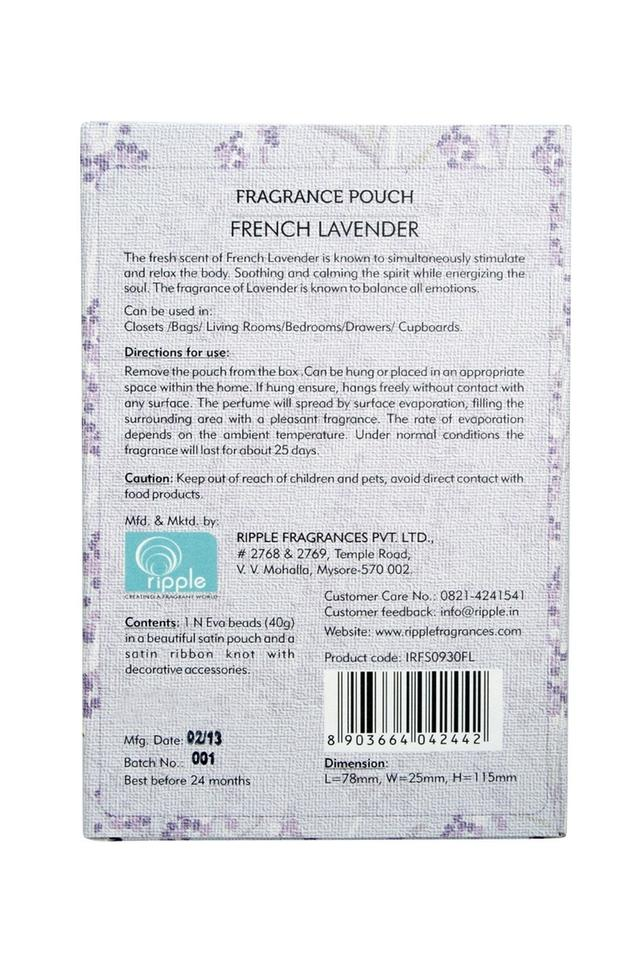 French Lavender Eva Beads Pouch