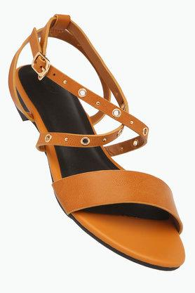 ALLEN SOLLY Womens Casual Wear Buckle Closure Flats - 202873017