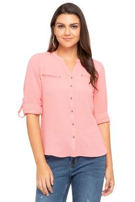 4926bc4f1dde1d Buy Formal   Checked Womens Shirt Online