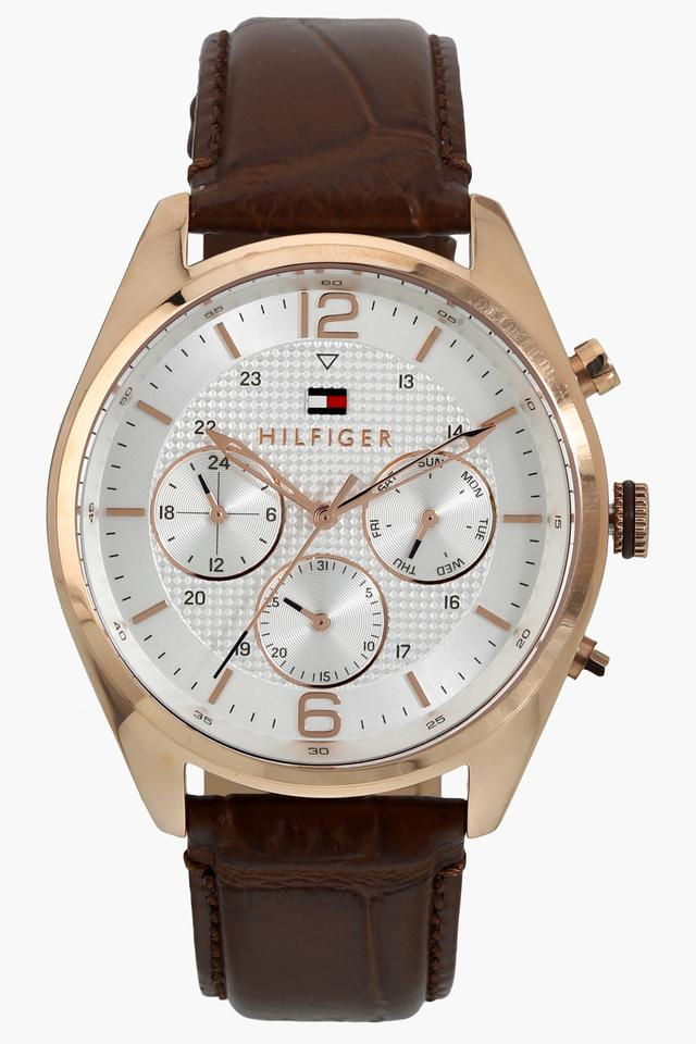 Mens Analogue Leather Watch - NATH1791183