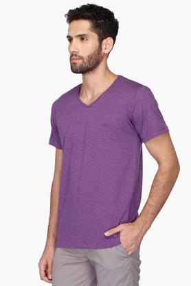 Mens Slub V Neck T-Shirt