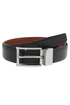 VETTORIO FRATINI Mens Leather Buckle Closure Formal Belt - 203823470