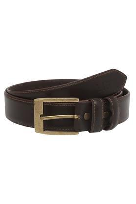 LIFEMens Leather Buckle Closure Formal Belt