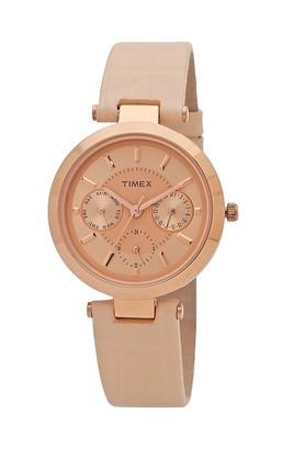 Womens Analogue Leather Watch - TWEL11811
