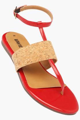 LAVIEWomens Casual Wear Buckle Closure Flats - 202520626