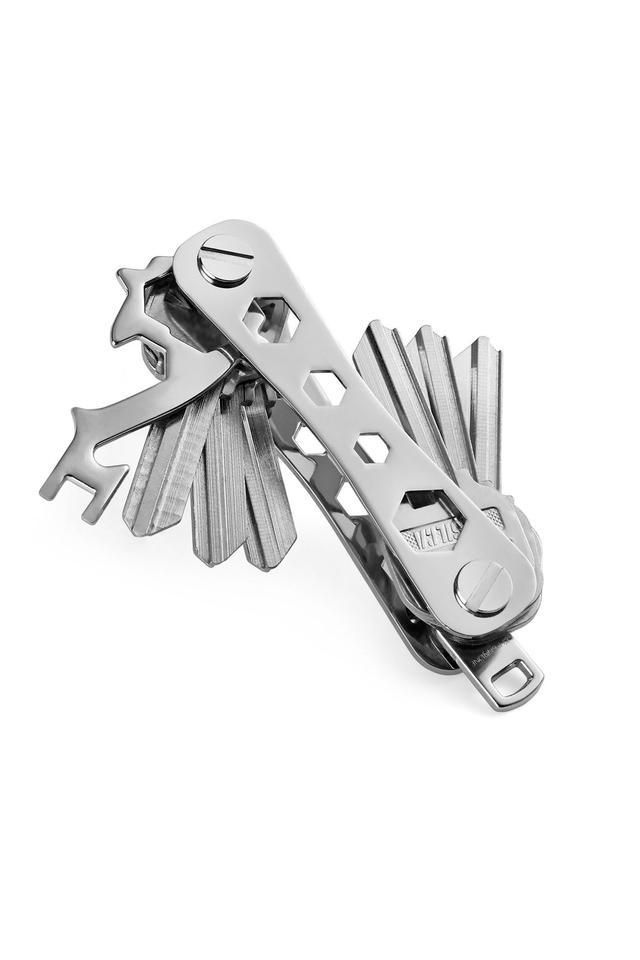 Unisex Flip Metallic Smart Key Holder