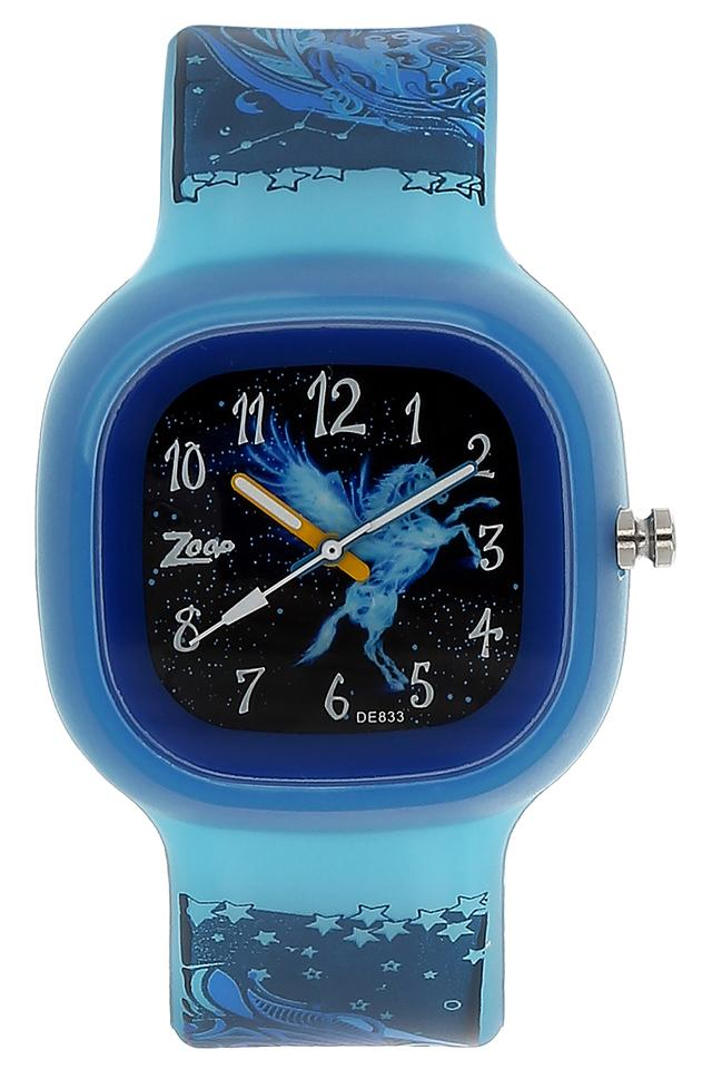 Boys Black Dial Plastic Watch - NEC3030PP11C