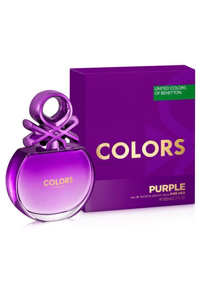 Colors Purple For Her Eau De Toilette - 80ml