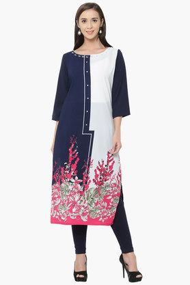 SHREE Womens Polyester Kurta And Legging Set - 203364037
