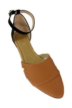 PAIOWomens Casual Wear Buckle Closure Flats - 204016024_9124