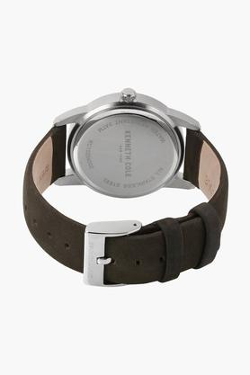 Mens Analogue-Digital Leather Watch - KC15204002MN