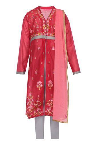 BIBA GIRLS -  Dark PinkIndianwear - Main