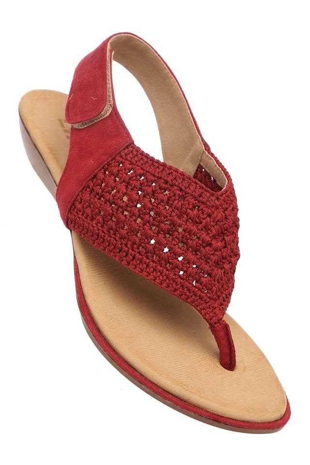 Womens Casual Wear Velcro Closure Flats