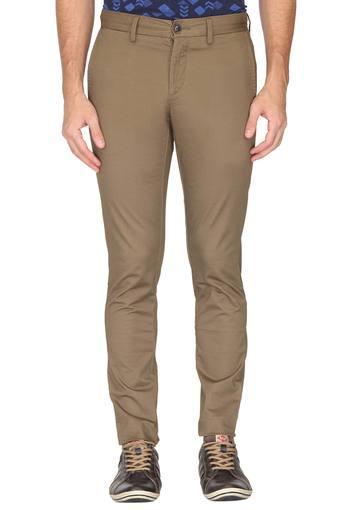 U.S. POLO ASSN. -  BrownCargos & Trousers - Main