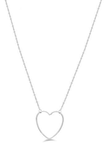 Womens Heart Chain Necklace
