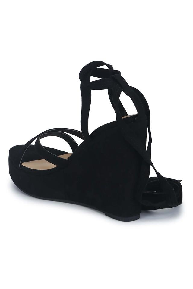 Womens Casual Lace Up Wedges