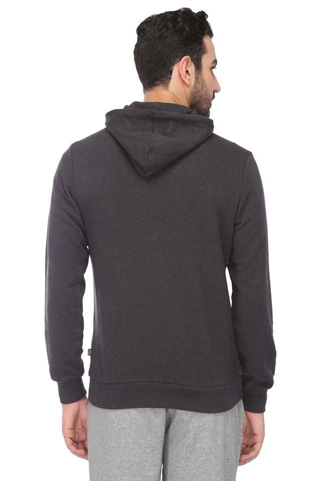 Mens Hooded Neck Slub Jacket