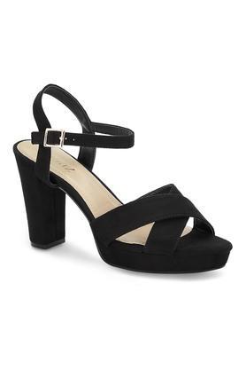 CERIZWomens Casual Wear Buckle Closure Heeled Sandals - 204864182_9212