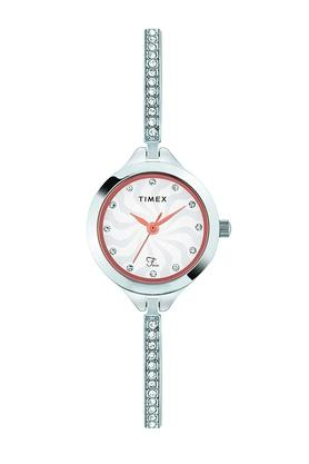 Womens Silver Dial Analogue Watch - TWEL12503T