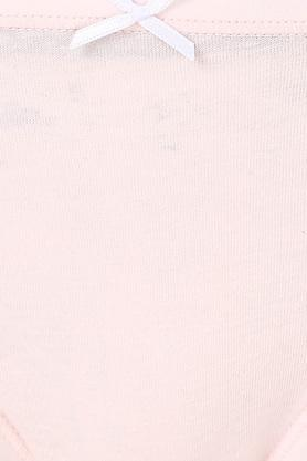 Women Stripe Solid and Printed Bikini Brief Pack of 5