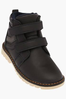 Boys Velcro Closure Boots