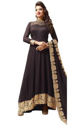 DEMARCAWomens Georgette Dress Material - 203984131_9128