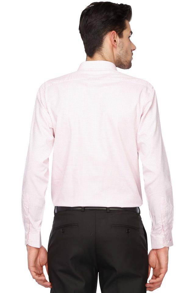 Mens Regular Collar Check Shirt