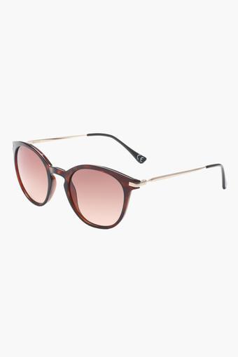 Womens Full Rim Polycarbonate Sunglasses - 2165 C2 S