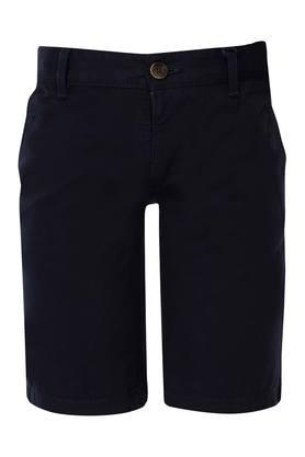 c5a87d8d76 X INDIAN TERRAIN Boys Solid Casual Shorts