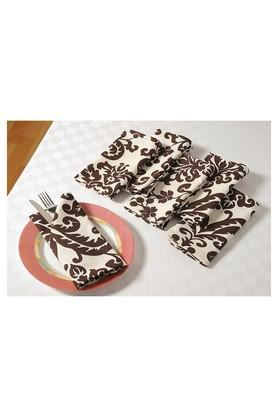 SWAYAMPrinted Dinner Napkin Set Of 6 - 204600025_9126