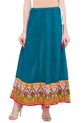IMARA Womens Solid Long Skirt