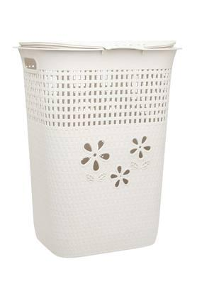 Solid Laundry Bin with Lid