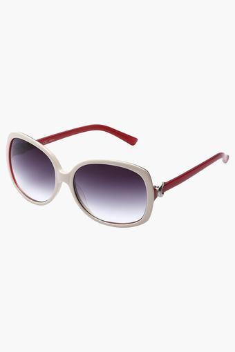 Womens Full Rim Oversized Sunglasses