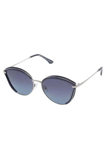 Womens Half Rim Cat Eye Sunglasses - LI134C123