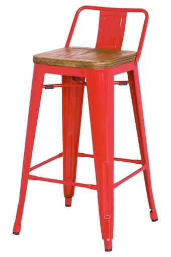 Red Sibel Bar Chair