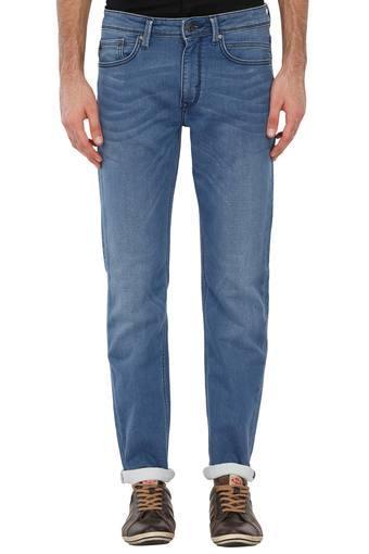 online shop later promo codes Mens Regular Fit Mild Wash Jeans