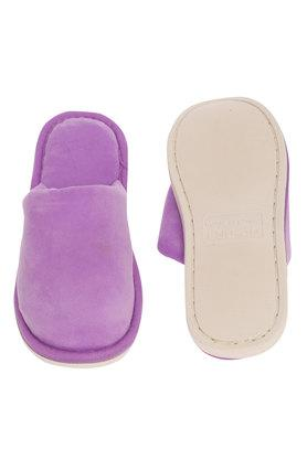 Unisex Solid Bath Slippers