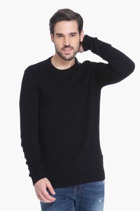 JACK AND JONES Mens Solid Casual T-Shirt