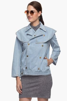 Women Moms Denim Jacket
