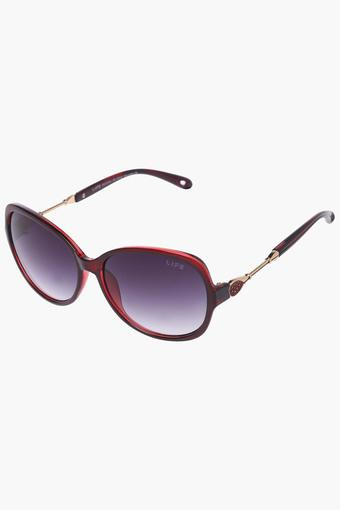 Womens Non Polarized Butterfly Sunglasses - LIO29C56