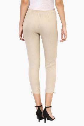 Womens Ankle Length Straight Pant