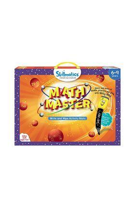 Unisex Math Master Write and Wipe Activity Game