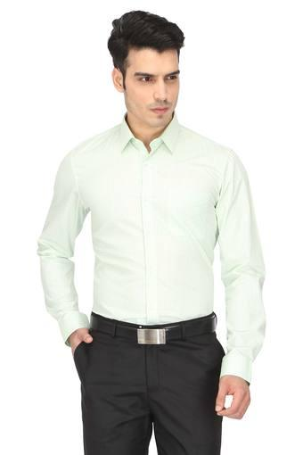 PETER ENGLAND -  Green MixShirts - Main